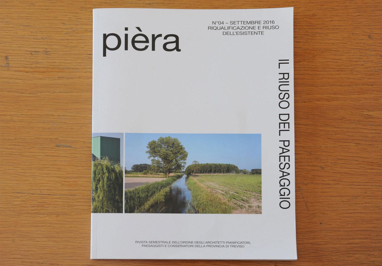Pièra, Il riuso del paesaggio, n.04, 2016